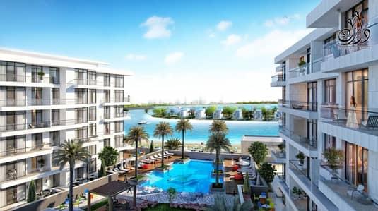 فلیٹ 1 غرفة نوم للبيع في مدينة الشارقة للواجهات المائية، الشارقة - OWN IN SHARJAH  FULL SEA VIEW | 4 YEAR'S PAYMENT PLAN .