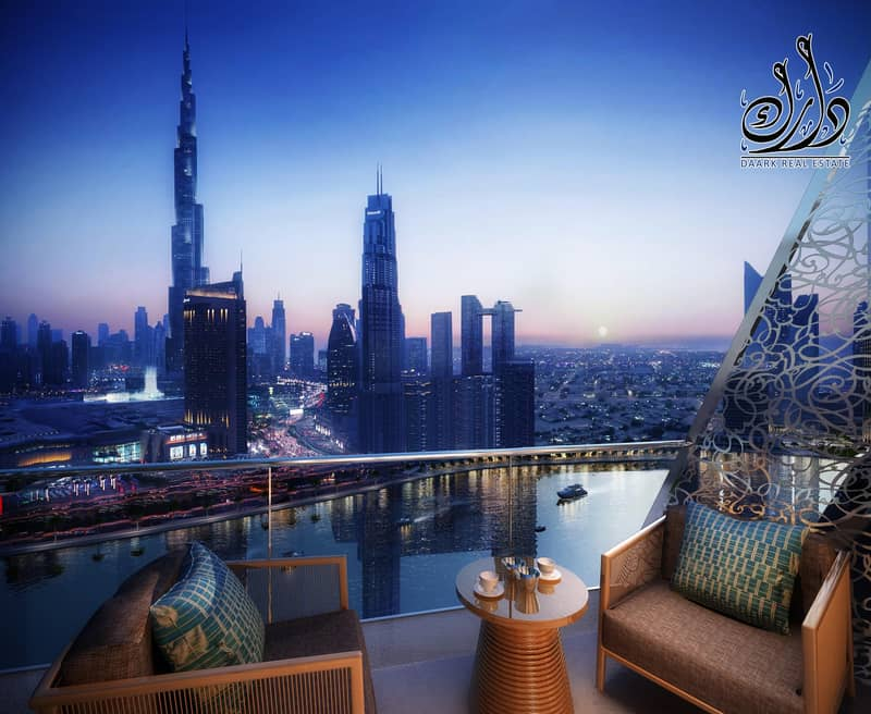 LUXURY APARTMENT WITH CREEK VIEW'S | 50% ON HAND OVER.