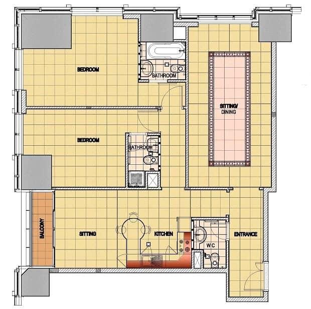 12 2 Bedrooms | Upgraded Unit | Sea Views