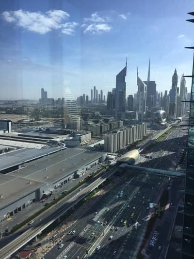 2 Bedroom Flat for Rent in Sheikh Zayed Road, Dubai - Duja Tower | 2BHK Open Kitchen | 13 Months Contract