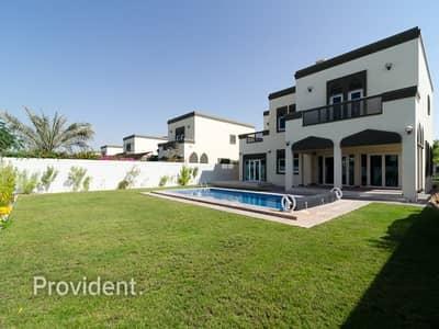فیلا 5 غرف نوم للبيع في جميرا بارك، دبي - Beautiful Home 5 B/R Regional Style with Pool