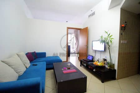 1 Bedroom Apartment for Rent in Dubai Marina, Dubai - Furnished 1 BR with Balcony Near Metro
