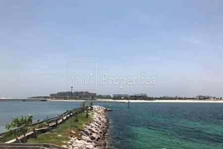 Plot for Sale in Jumeirah, Dubai - Open Sea Facing Large Plot | Private Beach