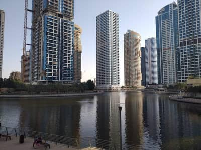 Office for Rent in Jumeirah Lake Towers (JLT), Dubai - JLT Fortune Tower Ready to movein Offce next to metro Lake and SKZ road view Rent 47k by 4 Payments