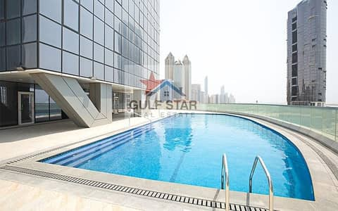 2 Bedroom Flat for Rent in Corniche Area, Abu Dhabi - Brand New Fully Furnished Luxury 2 BR Sea View