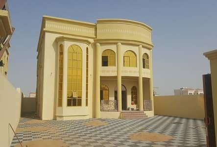 5 Bedroom Villa for Sale in Al Rawda, Ajman - For sale villa without down payment different style house for the future to you and your children have free life for the presence of bank leniency