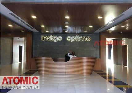 مکتب  للايجار في المدينة العالمية، دبي - FULLY FITTED OFFICE FOR RENT IN INDIGO OPTIMA   | multiple unit available