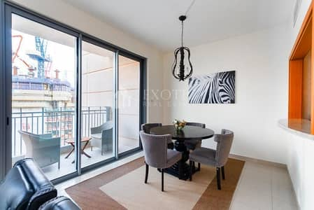 3 Bedroom Flat for Rent in Downtown Dubai, Dubai - Warm and Elegant Apt | Burj Khalifa View