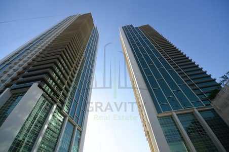 2 Bedroom Apartment for Rent in Al Reem Island, Abu Dhabi - Move in ready 2BR in Ocean Terrace w/ sea view