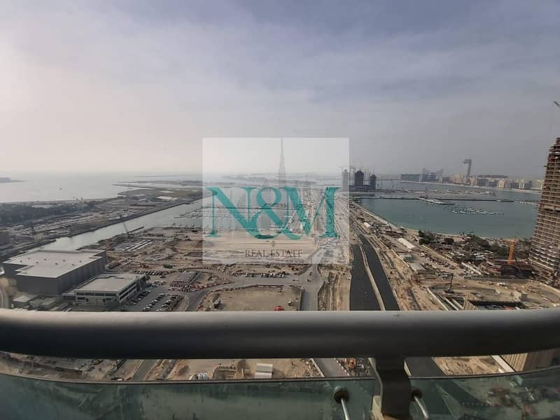 BEST DEAL Full sea view   Fully Furnished   Ready to Move in