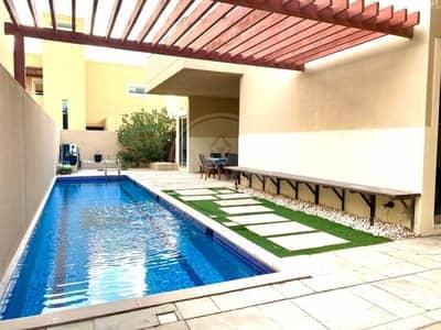 فیلا 4 غرف نوم للبيع في حدائق الراحة، أبوظبي - Exclusive! Genuine! Corner 4 bed (A) villa + pool