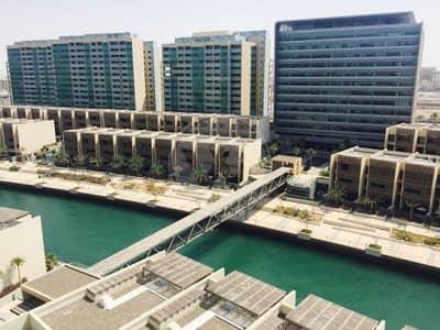 فلیٹ 1 غرفة نوم للبيع في شاطئ الراحة، أبوظبي - Best canal view price on island | High floor