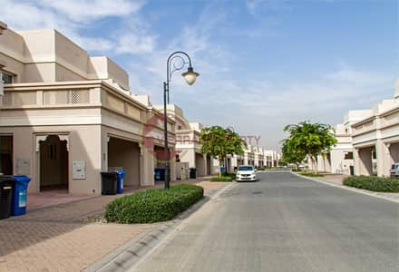 3 Bedroom Villa for Sale in Dubai Silicon Oasis, Dubai - ARABIC TOWNHOUSE CLOSE TO POOL | 3BR+ STUDY+ MAID