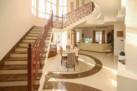6 Bedroom Villa for Sale in The Villa, Dubai - Opulent Custom Villa | Private Pool and Garden