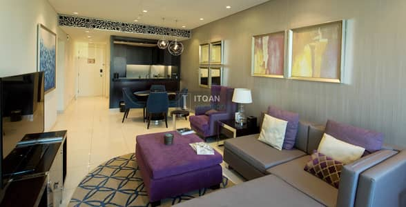 2 Bedroom Flat for Rent in Downtown Dubai, Dubai - Blending Relaxation & Sophistication to Create the Ideal Place.
