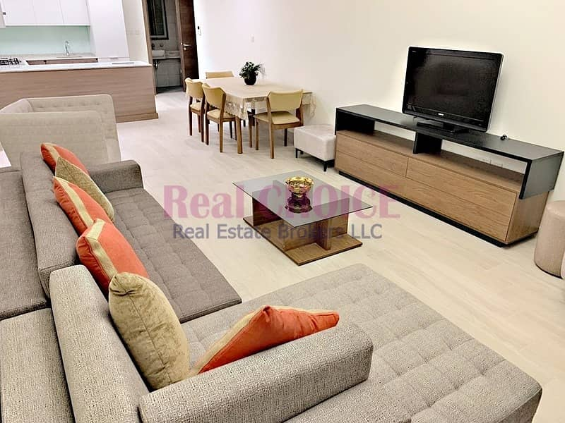 Fully Furnished 2 BR Apartment|Big Balcony