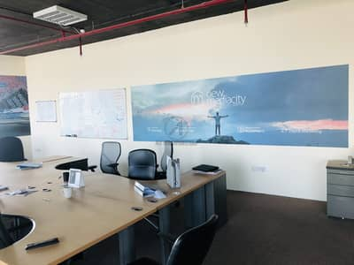 Office for Sale in Jumeirah Lake Towers (JLT), Dubai - Investor Deal | Fitted office | One DMCC Parking