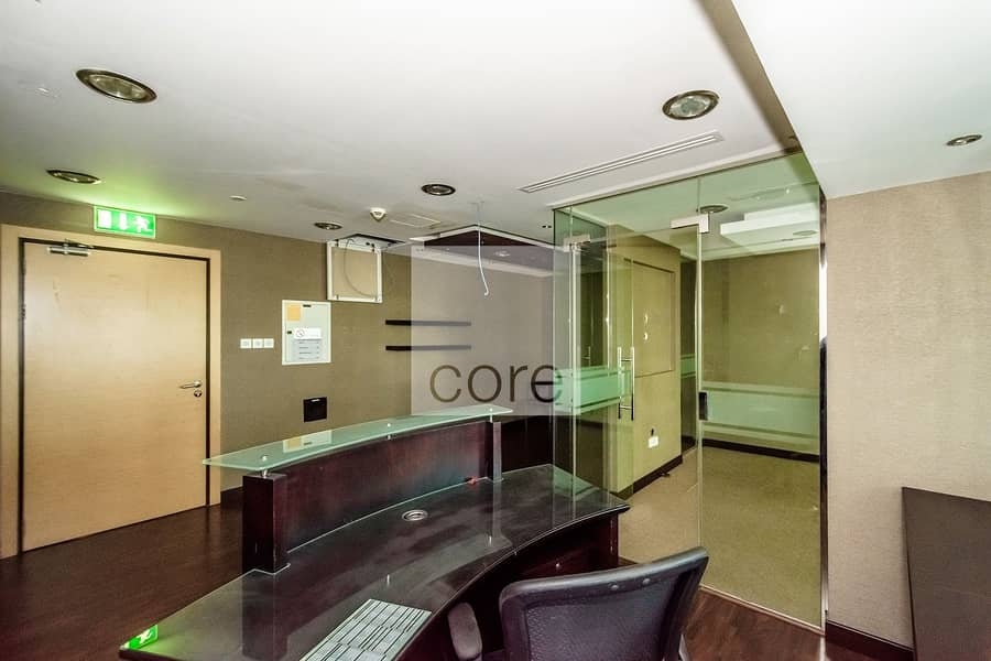2 Fitted and Furnished Office | Mid Floor