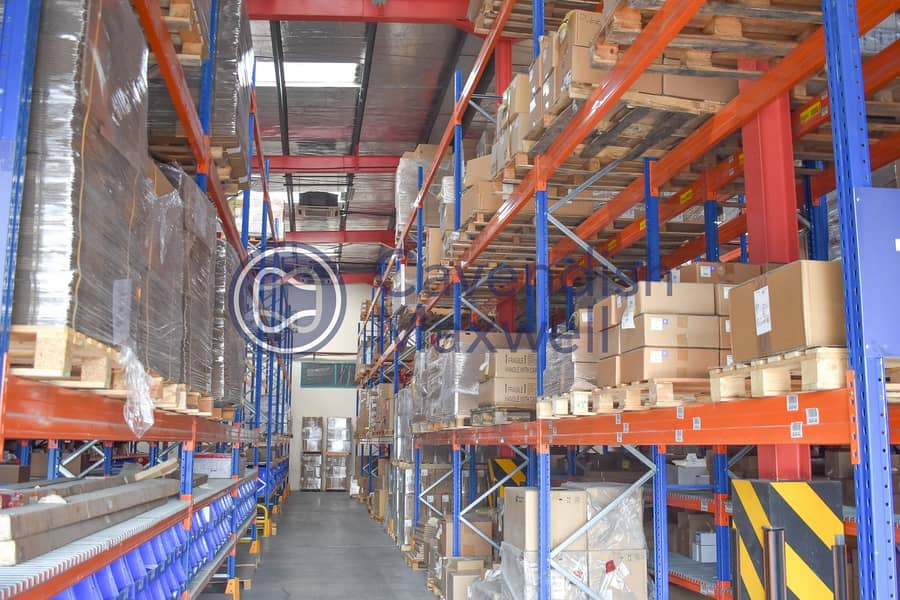 Temperature Controlled Warehouse | Rack Facility