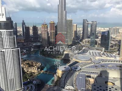 3 Bedroom Flat for Rent in Downtown Dubai, Dubai - Luxury Apartment with Burj and Fountain View