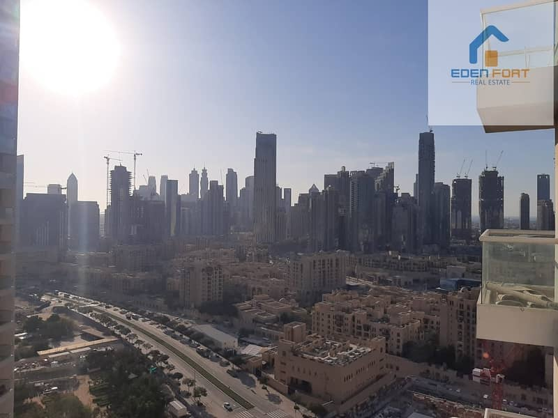 2 Spacious 1BHK Downtown View for Rent in Burj Al Nujoom