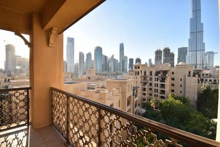 2 Bedroom Apartment for Rent in Old Town, Dubai - OT Specialist | 2 +Study | BK View