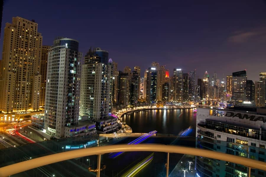 Amazing View Fully Furnished 2 BR  Marina View Ready to Move  in