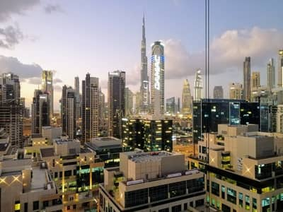 شقة 1 غرفة نوم للايجار في الخليج التجاري، دبي - 1 Month Free | Elegant 1BR | Burj Khalifa View