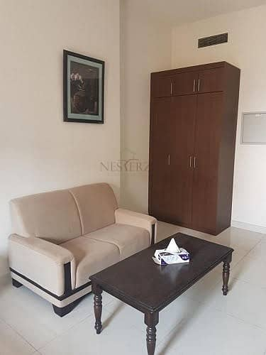 Studio for Rent in Dubai Sports City, Dubai - Spacious Studio For rent @ 27k | Elite Residences 6