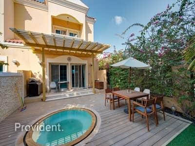 تاون هاوس 1 غرفة نوم للبيع في مثلث قرية الجميرا (JVT)، دبي - Fully Furnished Corner TH with Jacuzzi   Managed