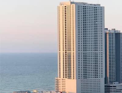 1 Bedroom Flat for Rent in Corniche Ajman, Ajman - Sea view 1 Bedroom Hall in Cornich Towers Ajman