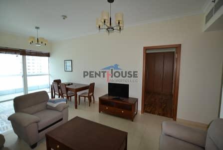 فلیٹ 1 غرفة نوم للبيع في أبراج بحيرات الجميرا، دبي - Lake view  I  High Floor  I  Large 1 bed  I  Rented