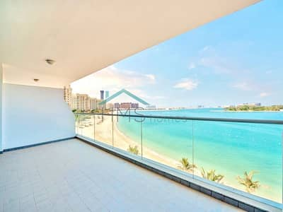 1 Bedroom Apartment for Rent in Palm Jumeirah, Dubai - 1 bed furnished with uninterrupted sea views