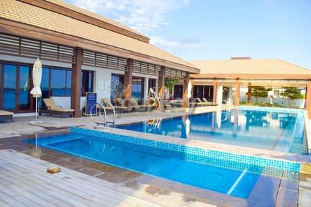 5 Bedroom Villa for Rent in Al Reem Island, Abu Dhabi - Private Beach Access Villa Sea View