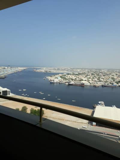 1 Bedroom Apartment for Rent in Ajman Downtown, Ajman - Sea View 1Bhk in Horizon Tower Close kitchen