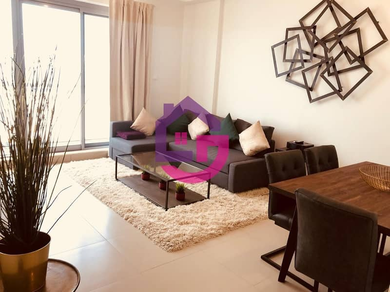MODERN FURNISHED 1BR WITH AMAZING SEA VIEW