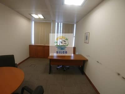 Furnished office space Central A/C & free internet