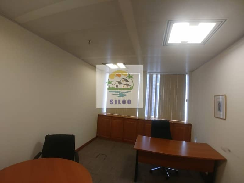9 Furnished office space Central A/C & free internet