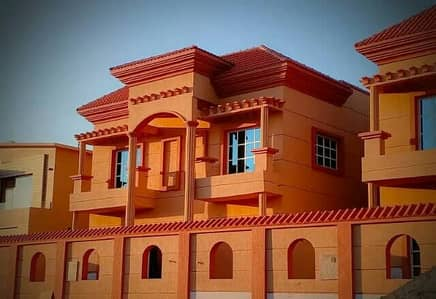 Modern design villa at a great price, close to all services, the finest areas of Ajman, freehold for all nationalities