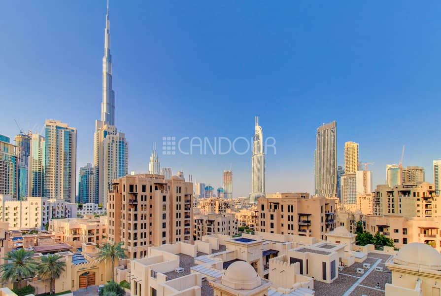 Prime 1 Bed Apt With Stunning Burj Khalifa Views