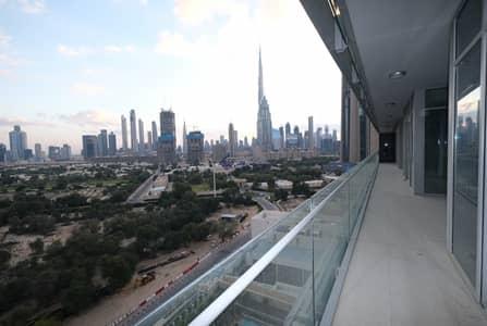 3 Bedroom Apartment for Rent in DIFC, Dubai - Modern 3 BR | Wooden Flooring | Kitchen Appliances
