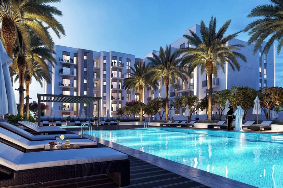 luxury apartment   on waterfront   in the heart of Sharjah