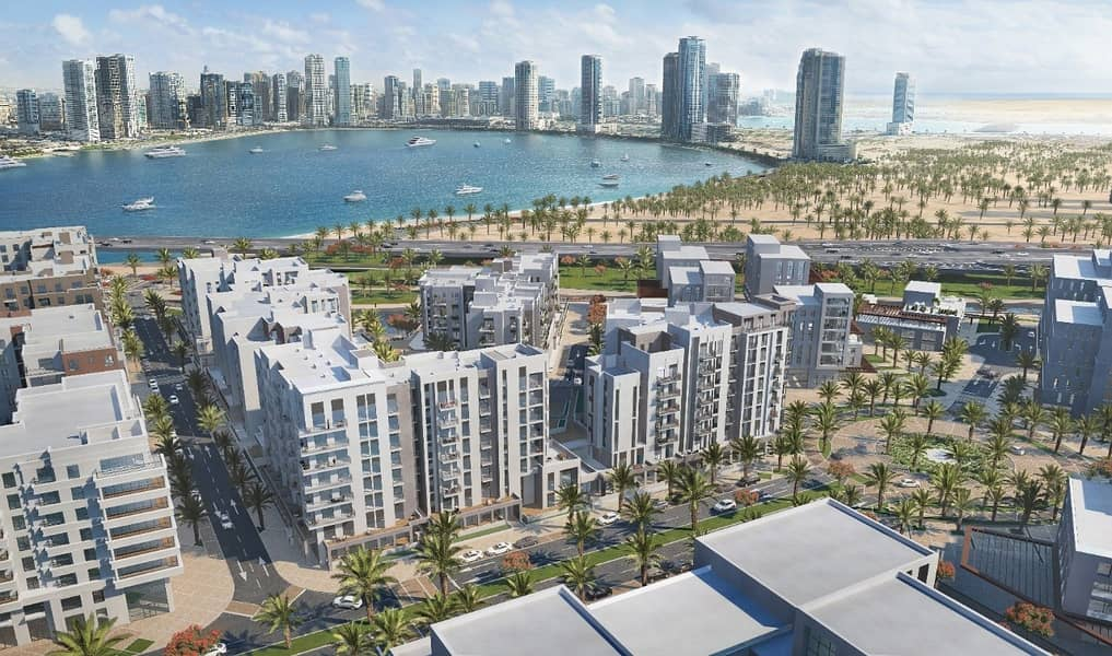 2 luxury apartment   on waterfront   in the heart of Sharjah