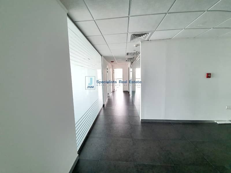 42 High Floor   Fitted Office with Partitioned  Lake View