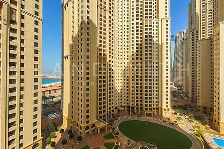 3 Bedroom Flat for Rent in Jumeirah Beach Residence (JBR), Dubai - Exclusive I Vacant I 3BR+Maids Apt in Sadaf 2