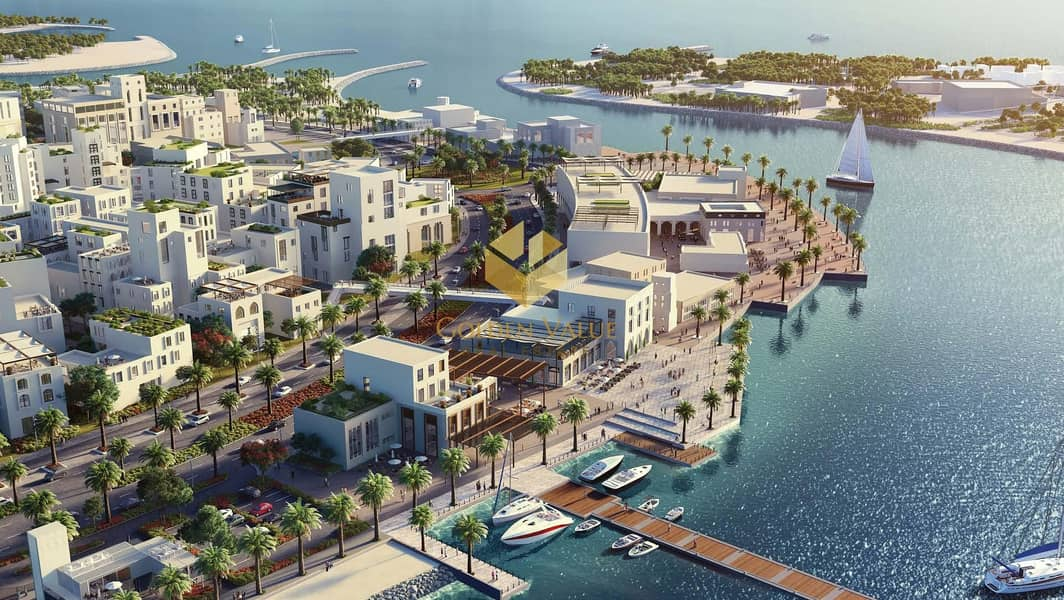 10 Luxury Apartments in a Private Island