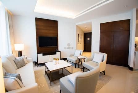 شقة 2 غرفة نوم للايجار في وسط مدينة دبي، دبي - Best Panoramic Views of Burj & Fountain