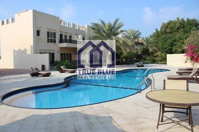 EXCLUSIVE 4 BEDROOM FURNISHED TOWN HOUSE NEAR AL HAMRA MALL