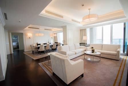 شقة 4 غرف نوم للايجار في وسط مدينة دبي، دبي - Best Panoramic Views of Burj & Fountain