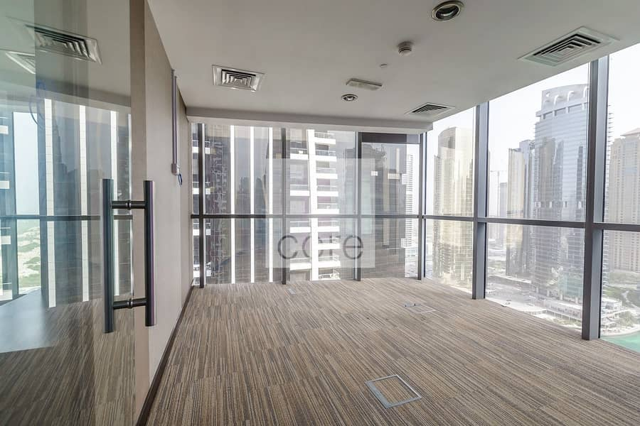 2 Fitted Office with Partitions | Mid Floor